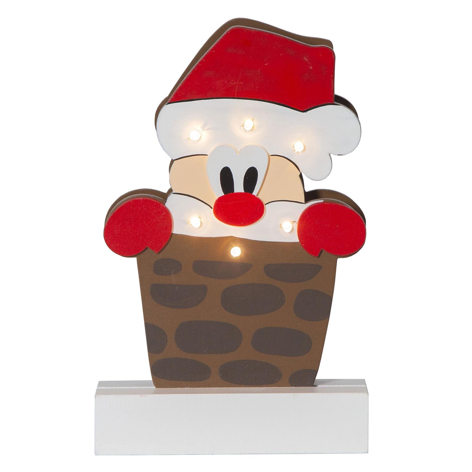 LED-dekorasjonsbelysning Freddy julenisse
