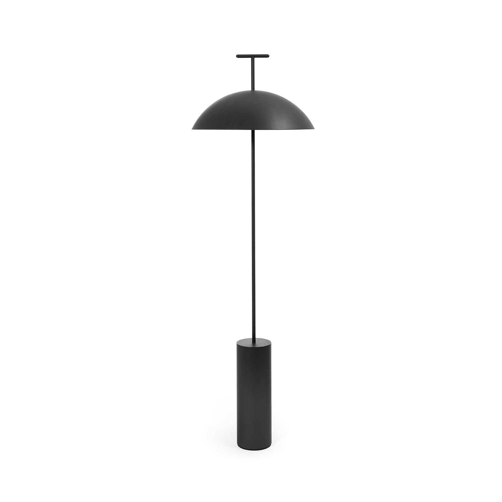 Kartell Geen-A LED-Stehleuchte, schwarz