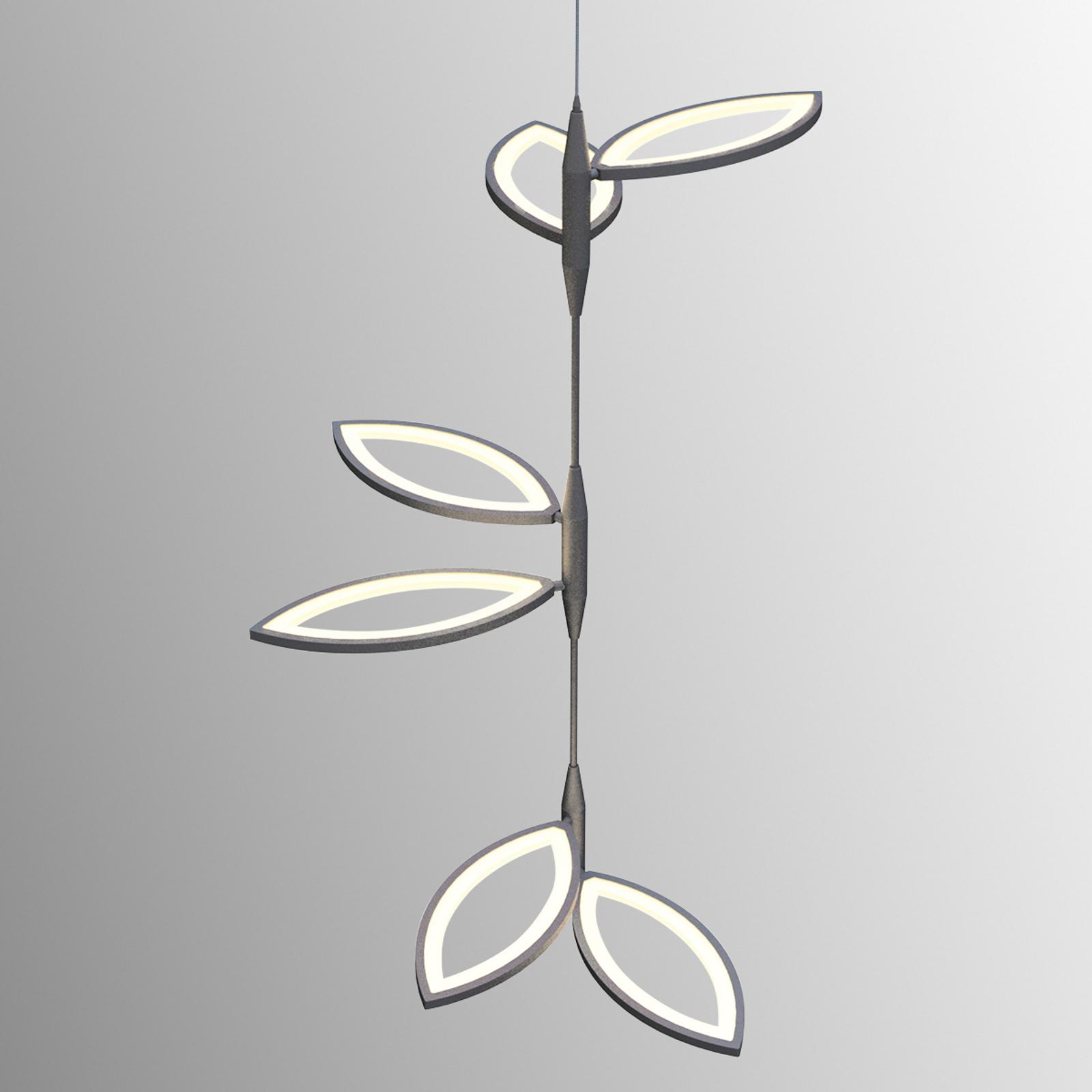 Niezwykła lampa wisząca LED Flavia