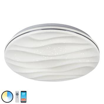 Austin LED-taklampe med app-styring