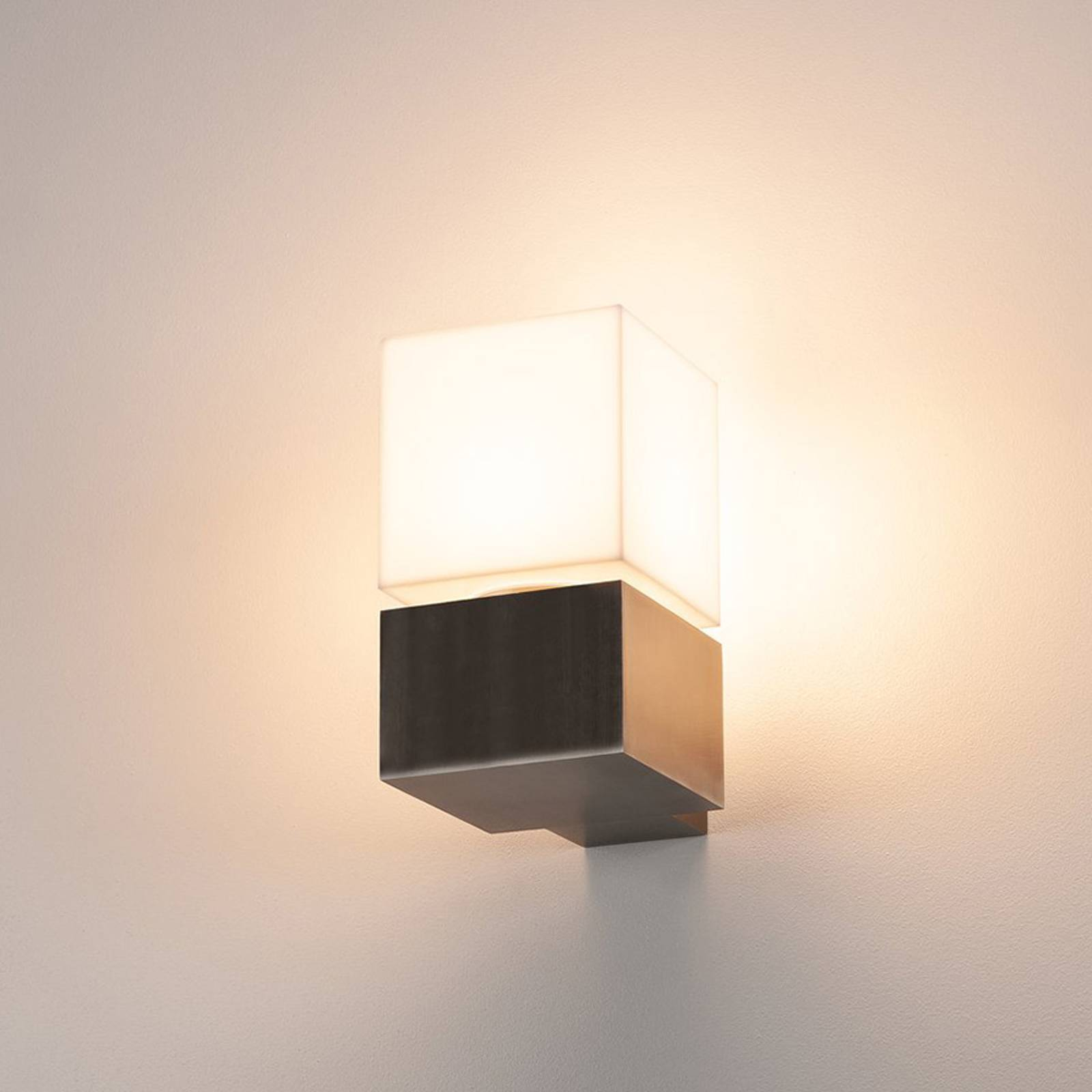 SLV Square LED-Außenwandleuchte, dimmbar