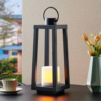 Lindby Oletta lámpara decorativa solar, farol