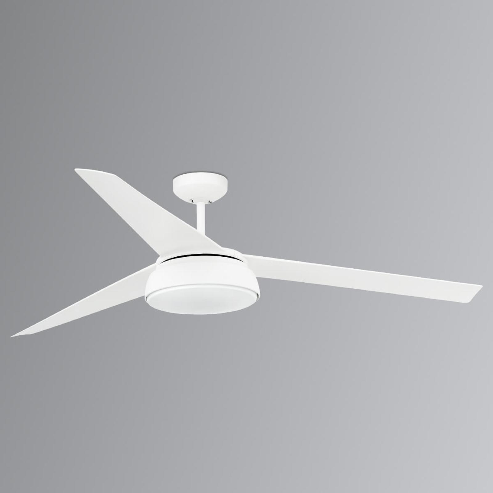 Dæmpbar belysning - LED loftventilator Vulcano