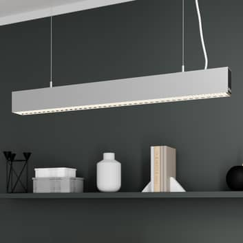 Arcchio Thores LED-Büro-Hängelampe, 85 cm silber