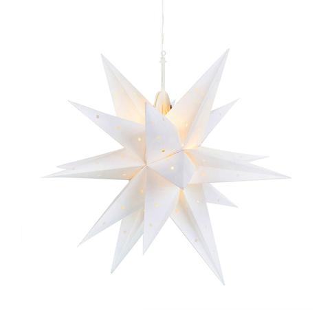 Gwiazda LED Vectra 3D na zewnątrz