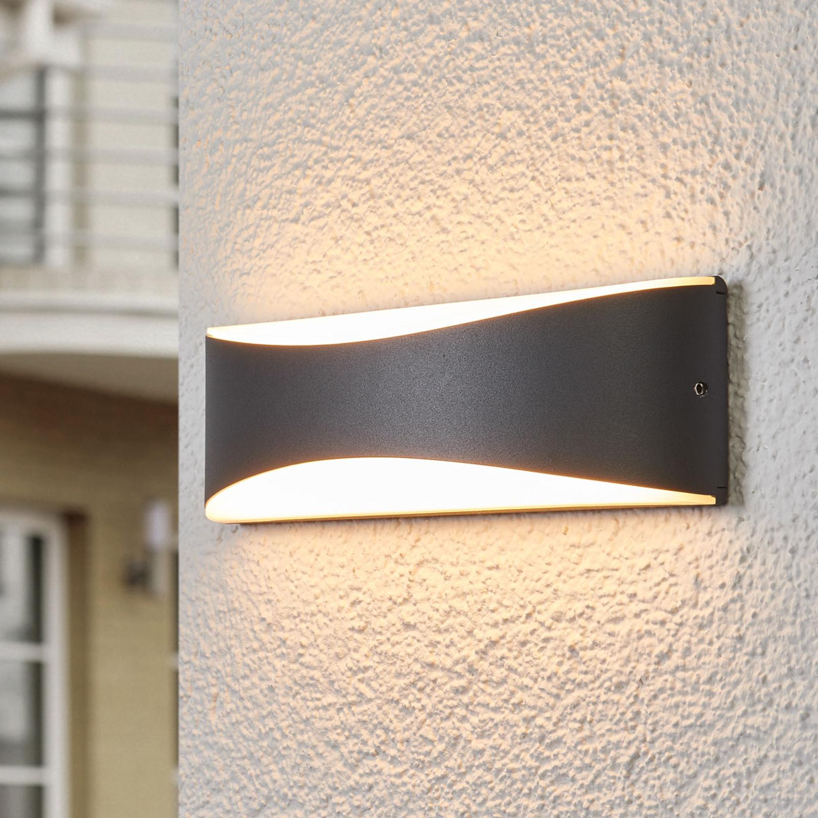 Applique da esterni LED Akira, antracite