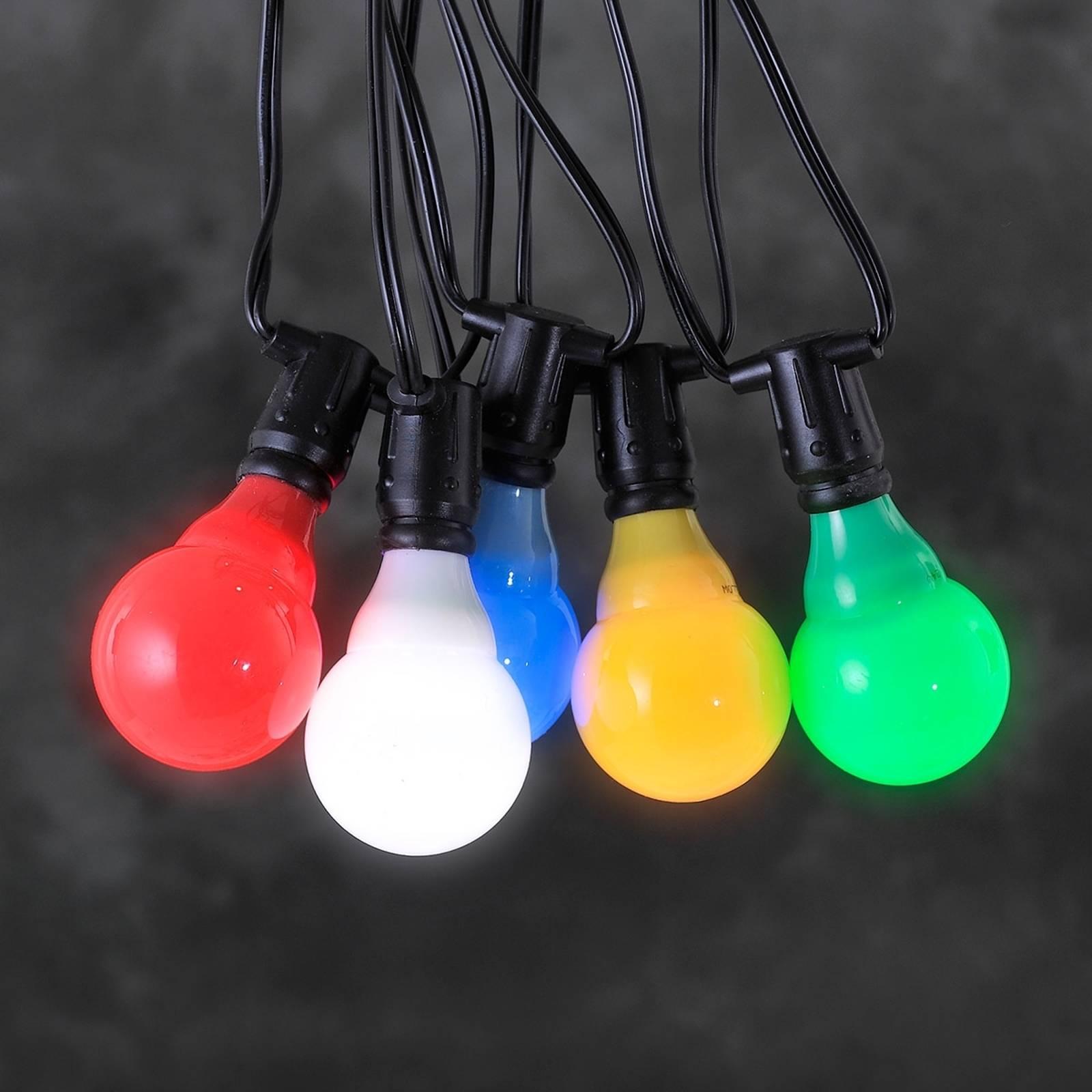 Image of Guirlande système 24 V LED E10 multicolore 07318306415071