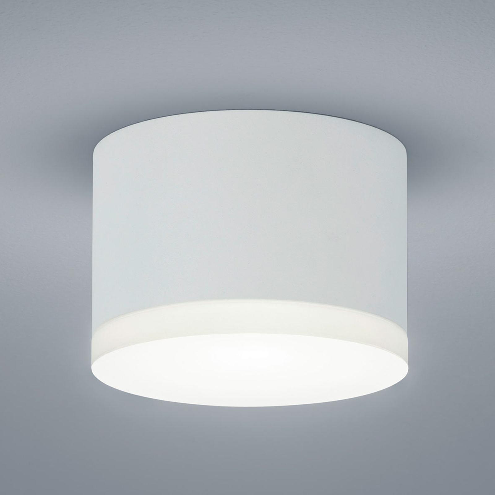 Helestra Pala – utenpåliggende LED-downlight, hvit