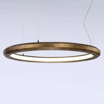LED-riippuvalaisin Materica, sisä, messinki