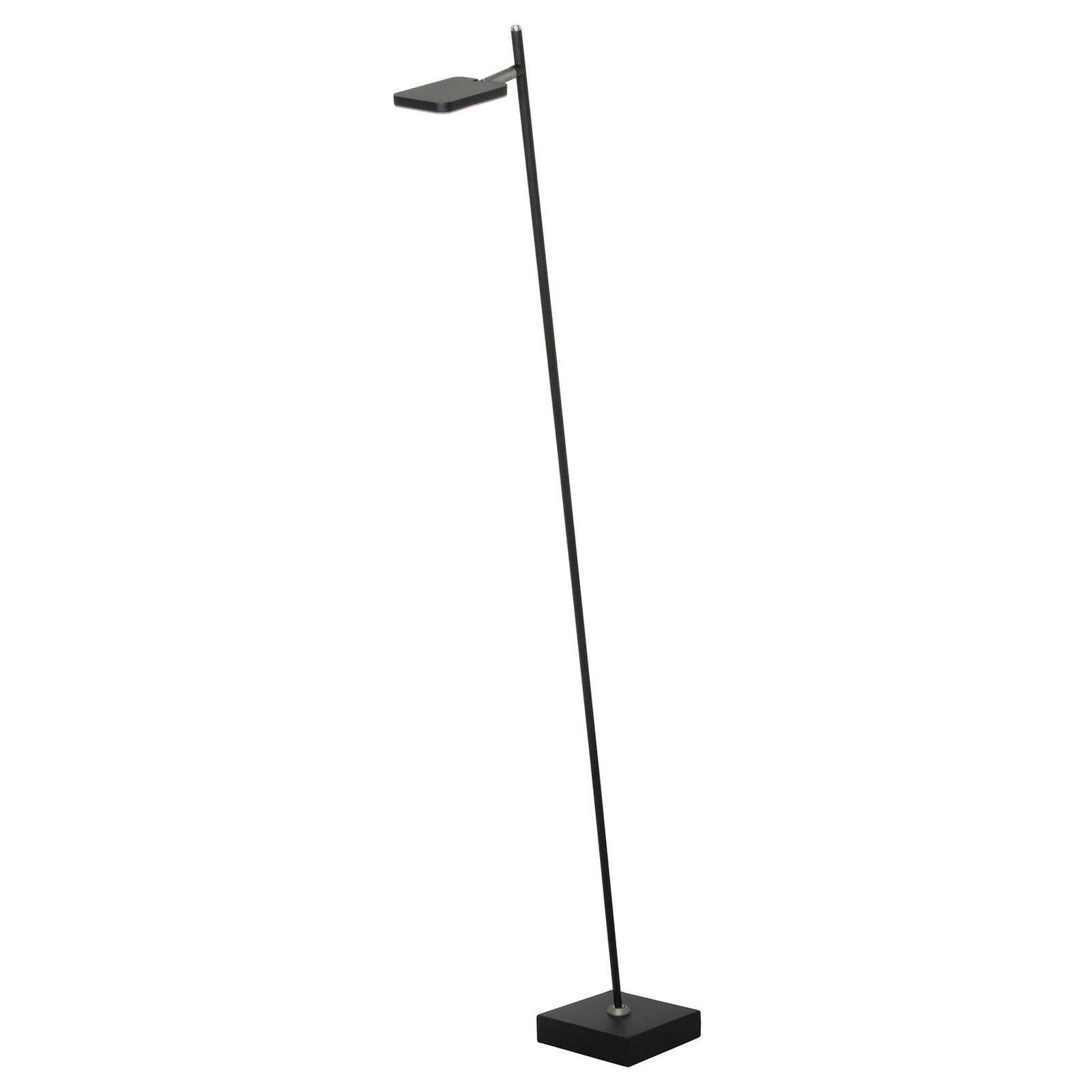 LED vloerlamp Block, 1-lamp, zwart