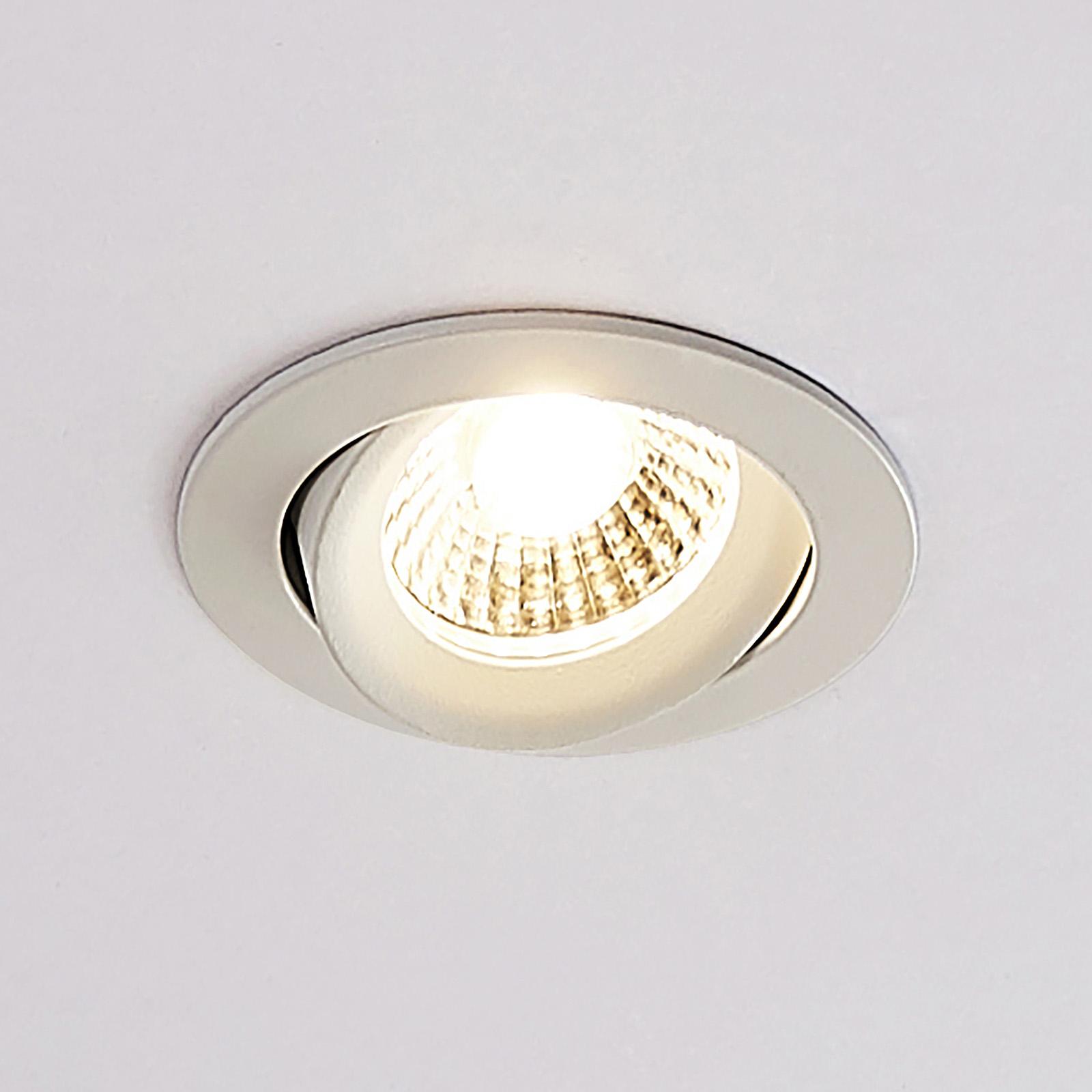 Arcchio Ozias reflektor wpuszczany LED biały, 4,2W