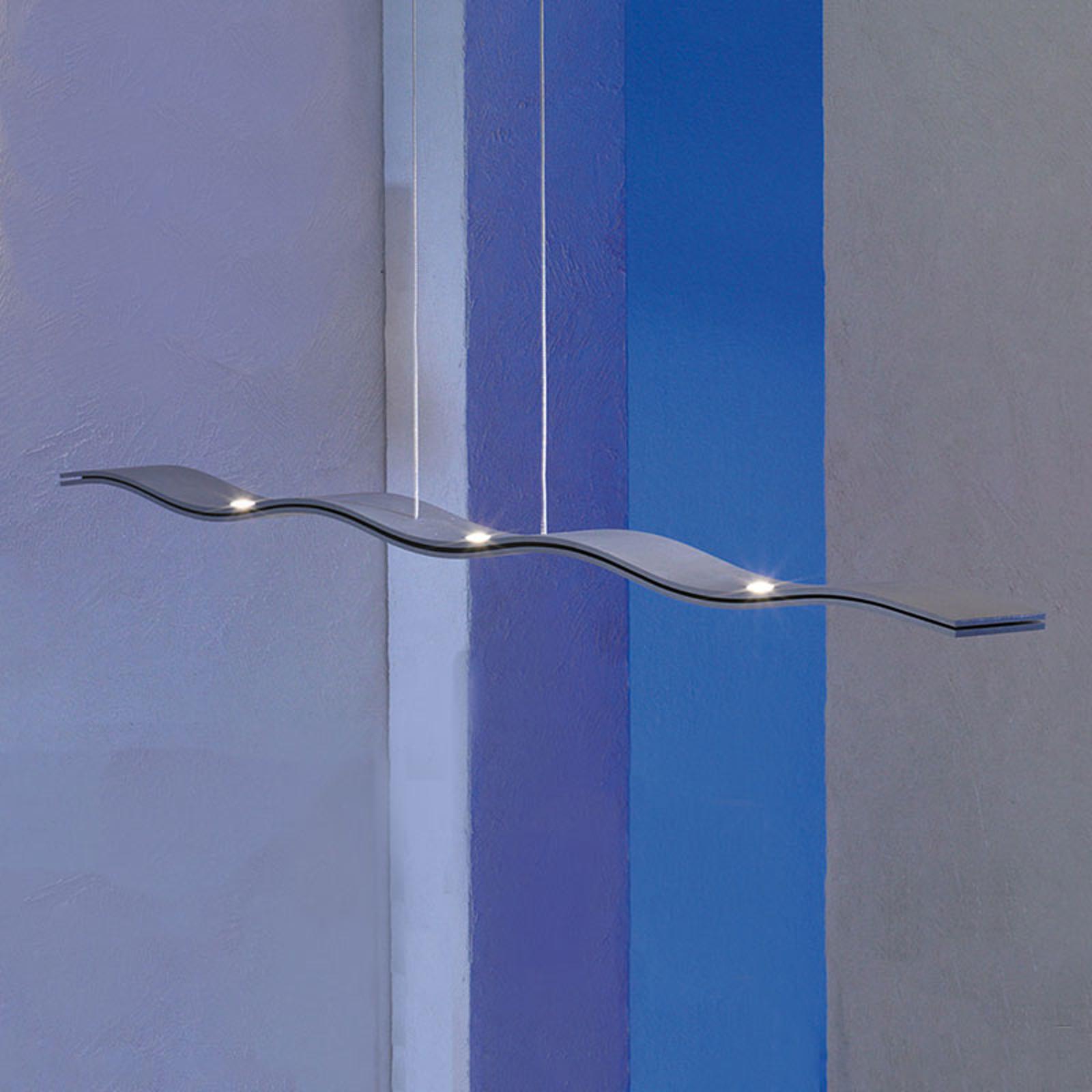 Escale Fluid - dimbar LED-hengelampe i aluminium