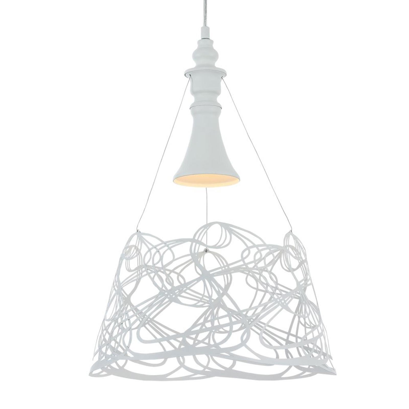 Elva hængelampe, hvid