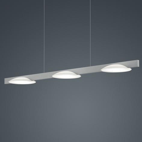 Helestra Pole lámpara colgante LED 3 luces