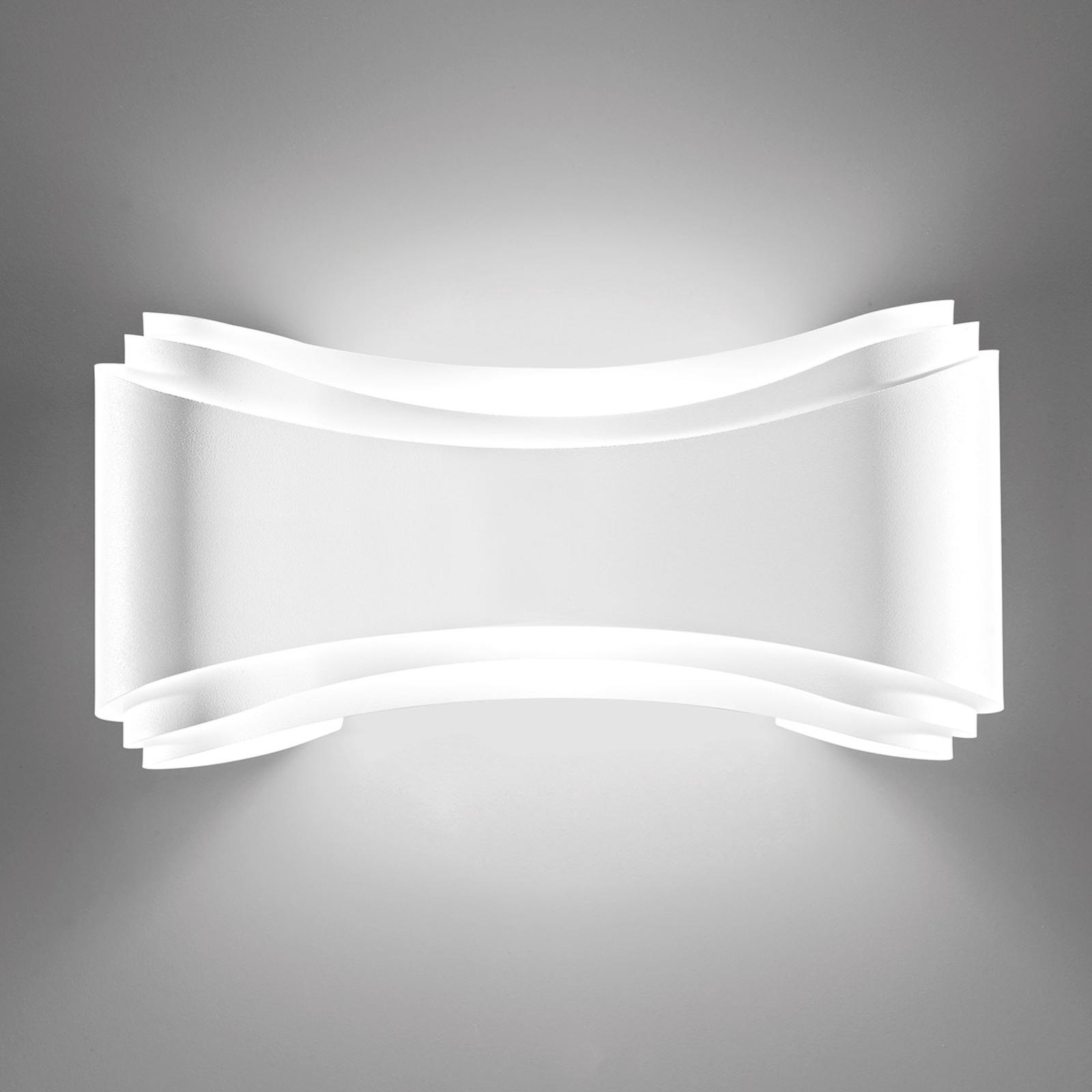 LED-Designer-Wandleuchte Ionica in Weiß