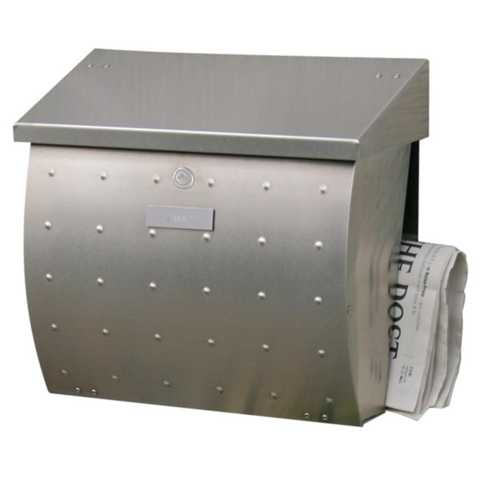 Krosix postkasse i rustfrit stål
