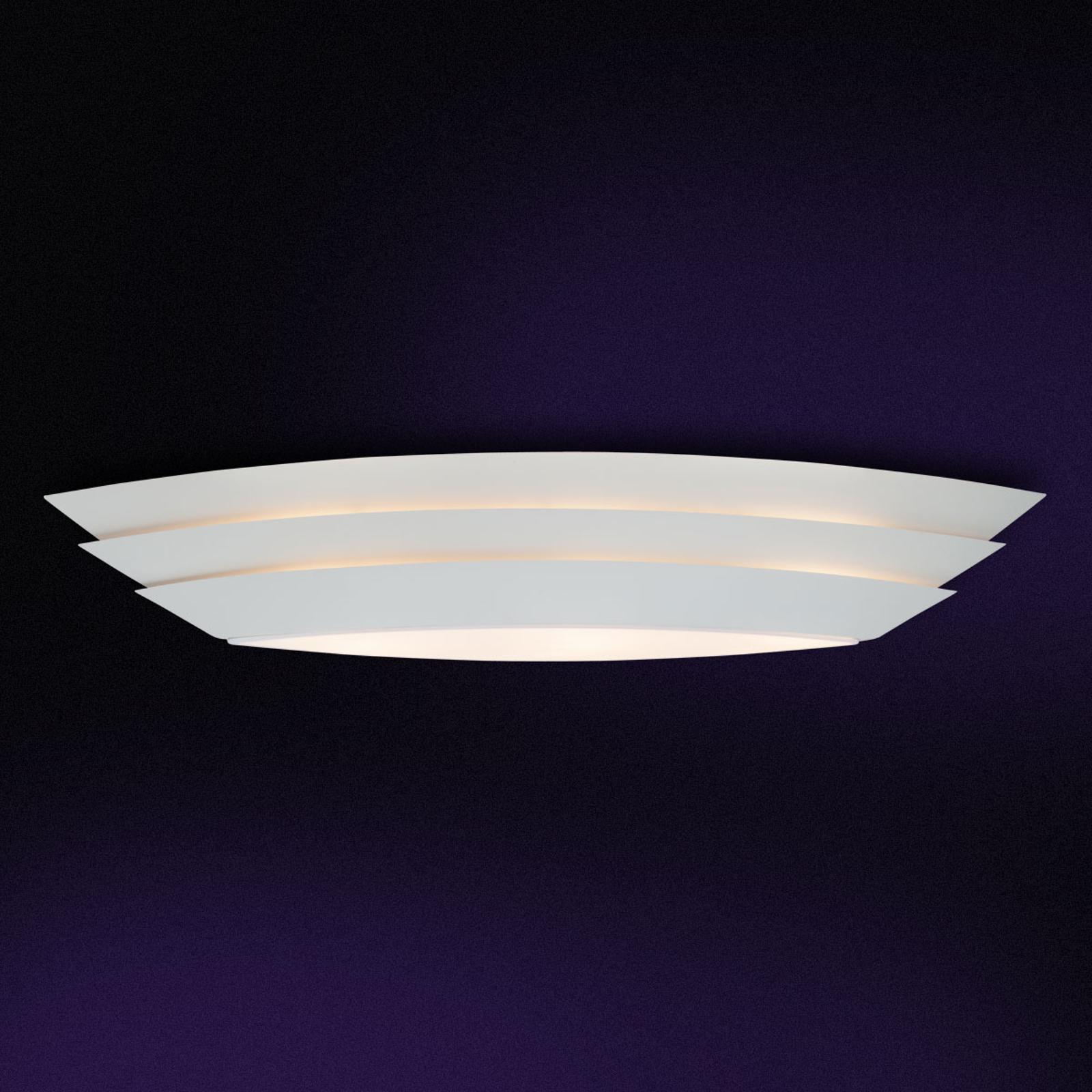 Interessant formgivet loftslampe Ship