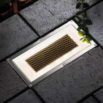 Paulmann Solar Box LED-lattiauppovalaisin 20x10cm