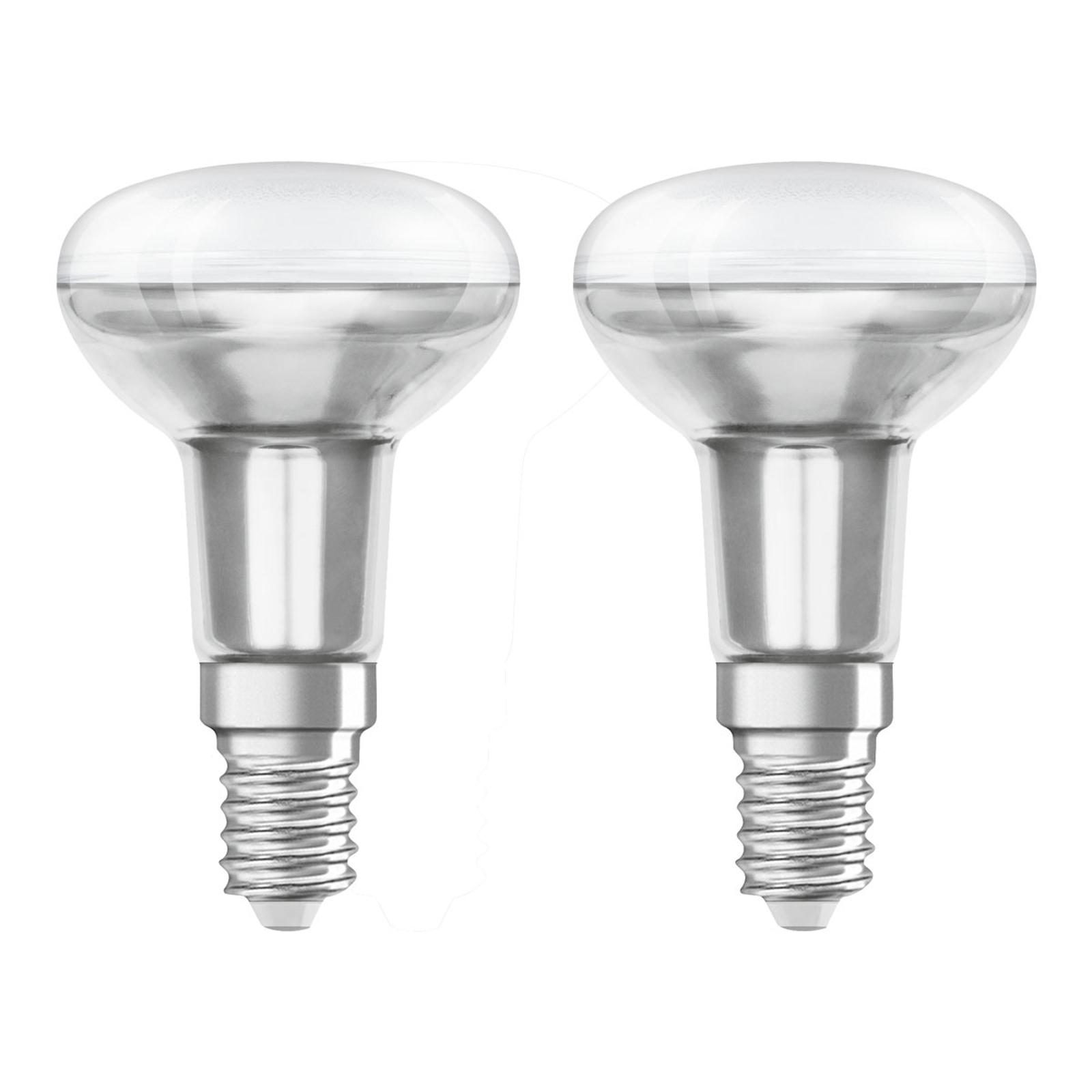 OSRAM reflektor LED E14 R50 1,6W 2700K 2 szt.