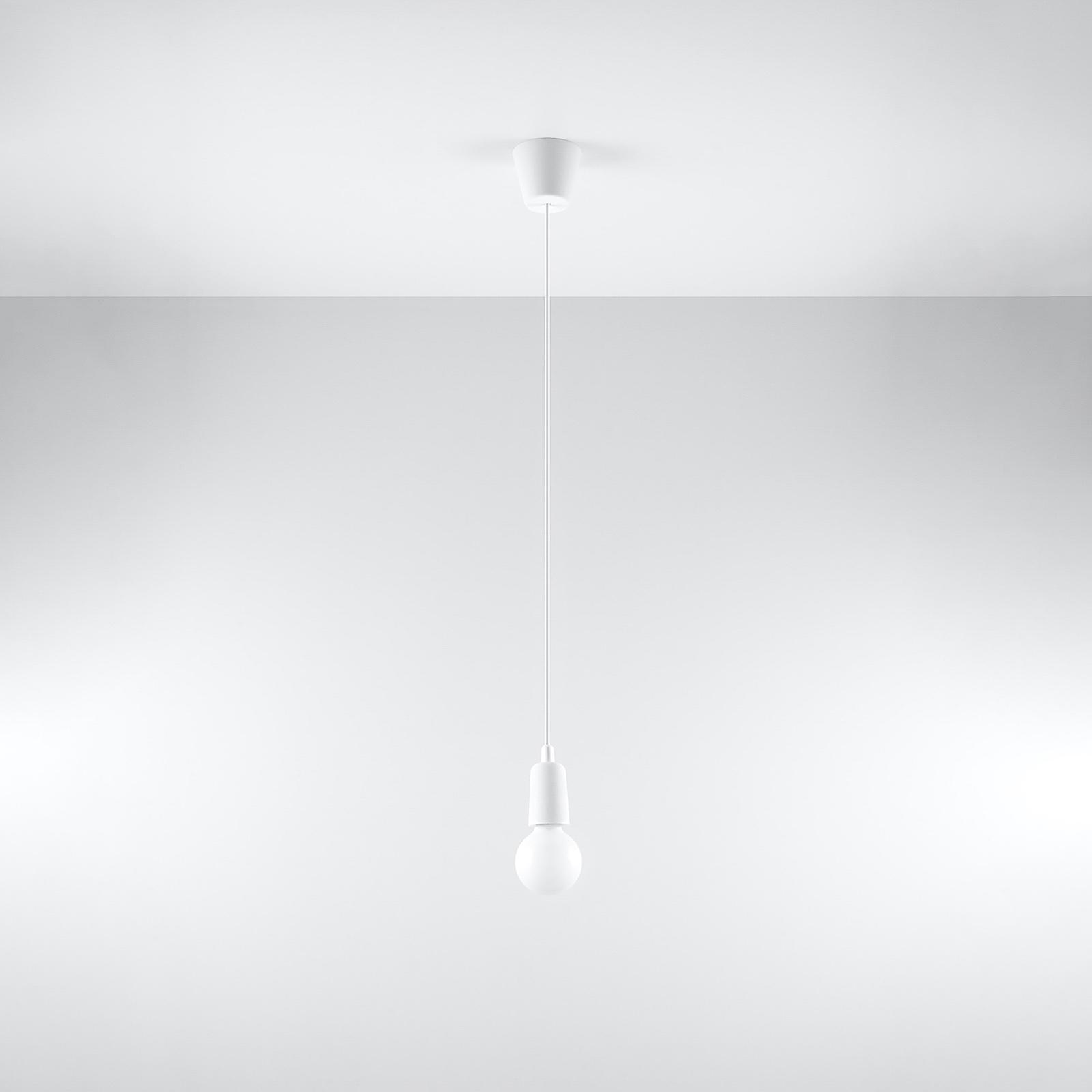 Lampada a sospensione Brasil, bianco, 1 luce