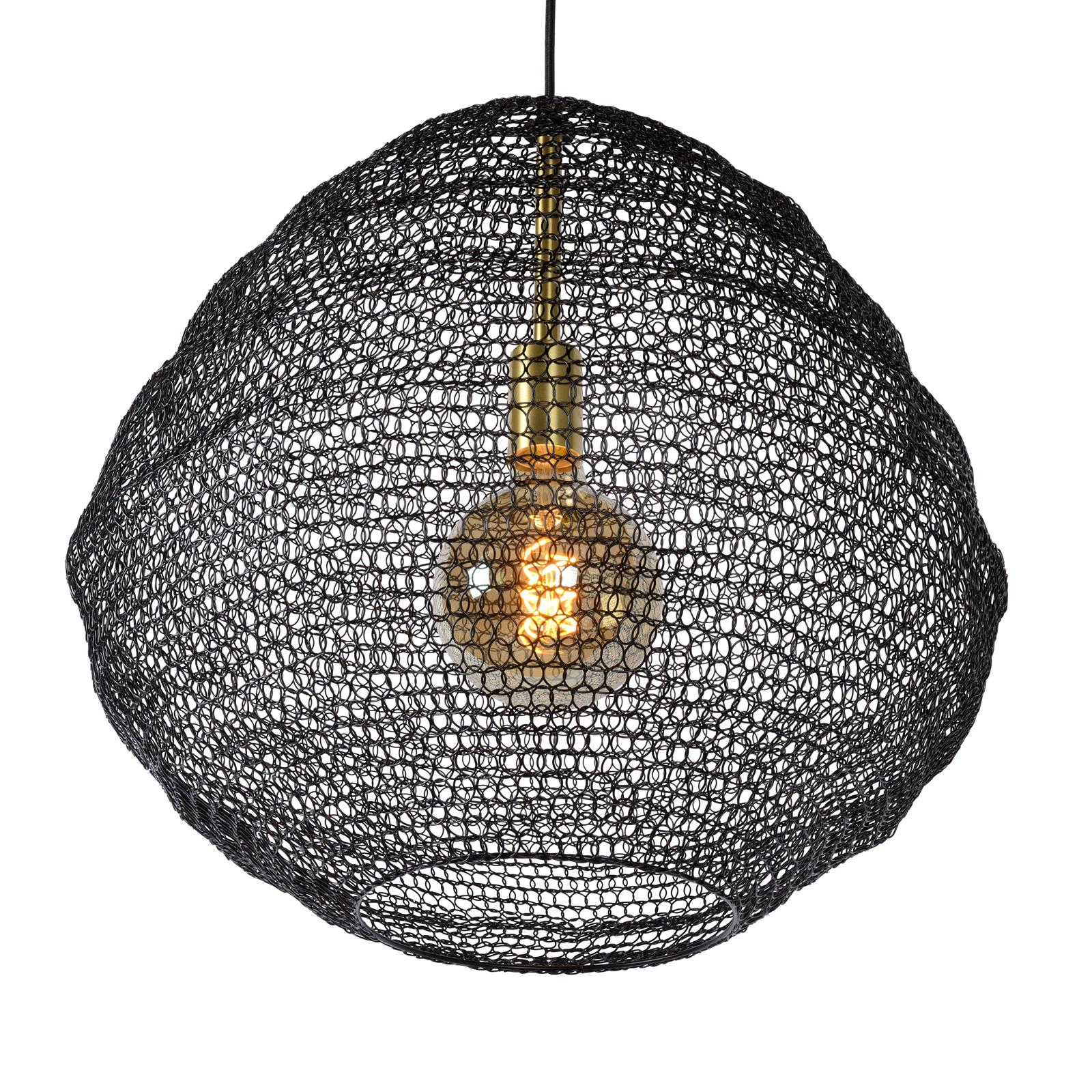 Lampa wisząca Saar Ø 38 cm czarna