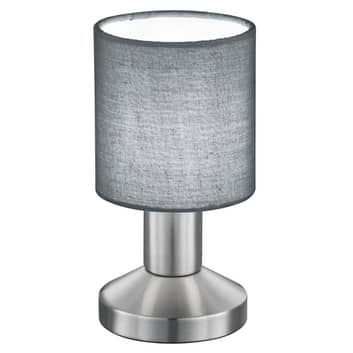 Grå bordlampe Garda
