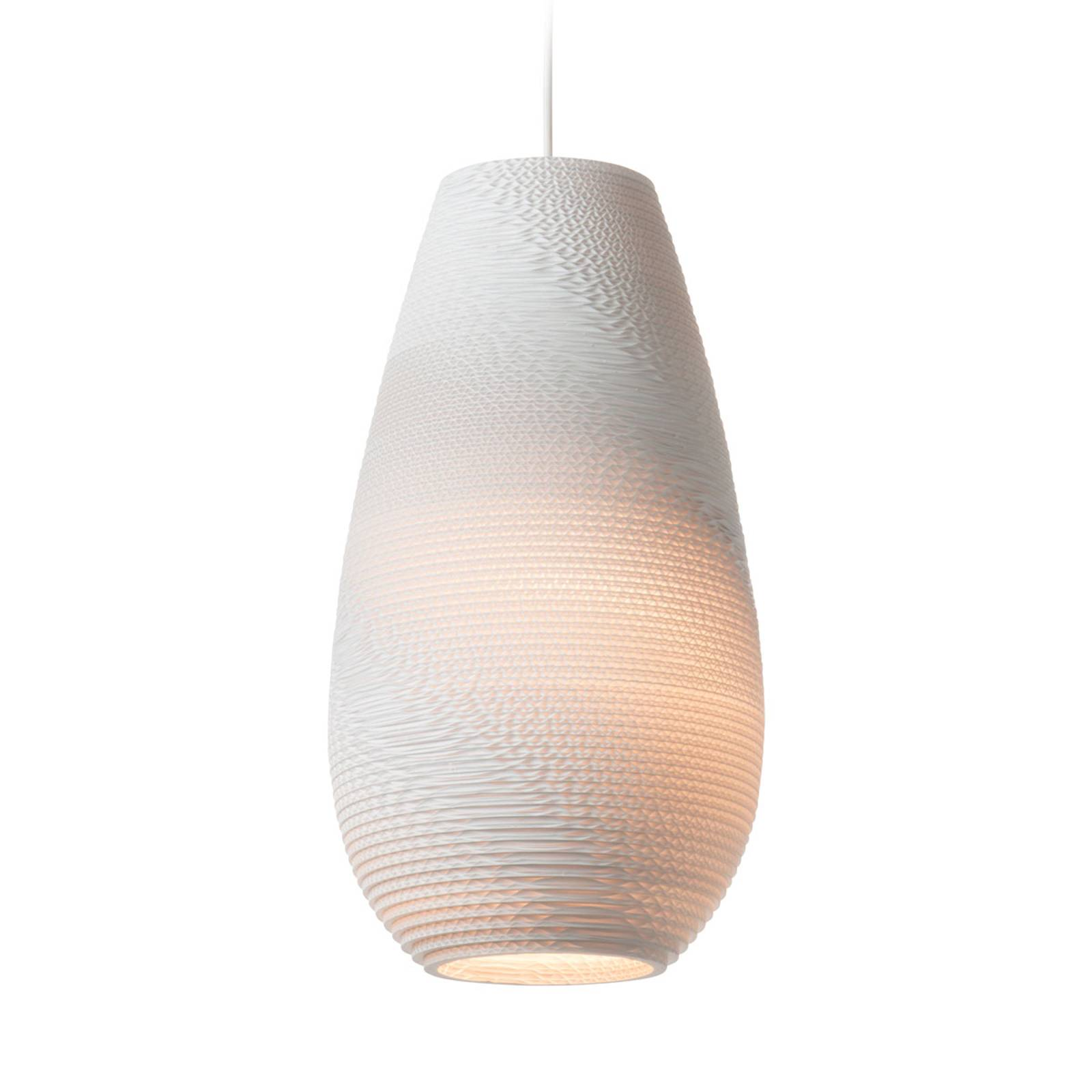 Hanglamp Drop Pendant white 25 cm