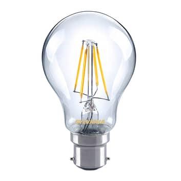 B22 4,5W 827 lampa LED filament, przezroczysta