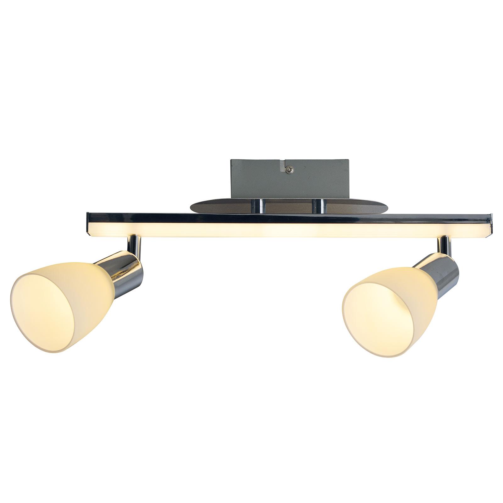 LED plafondlamp Ibiza 2-lamps lengte 39 cm