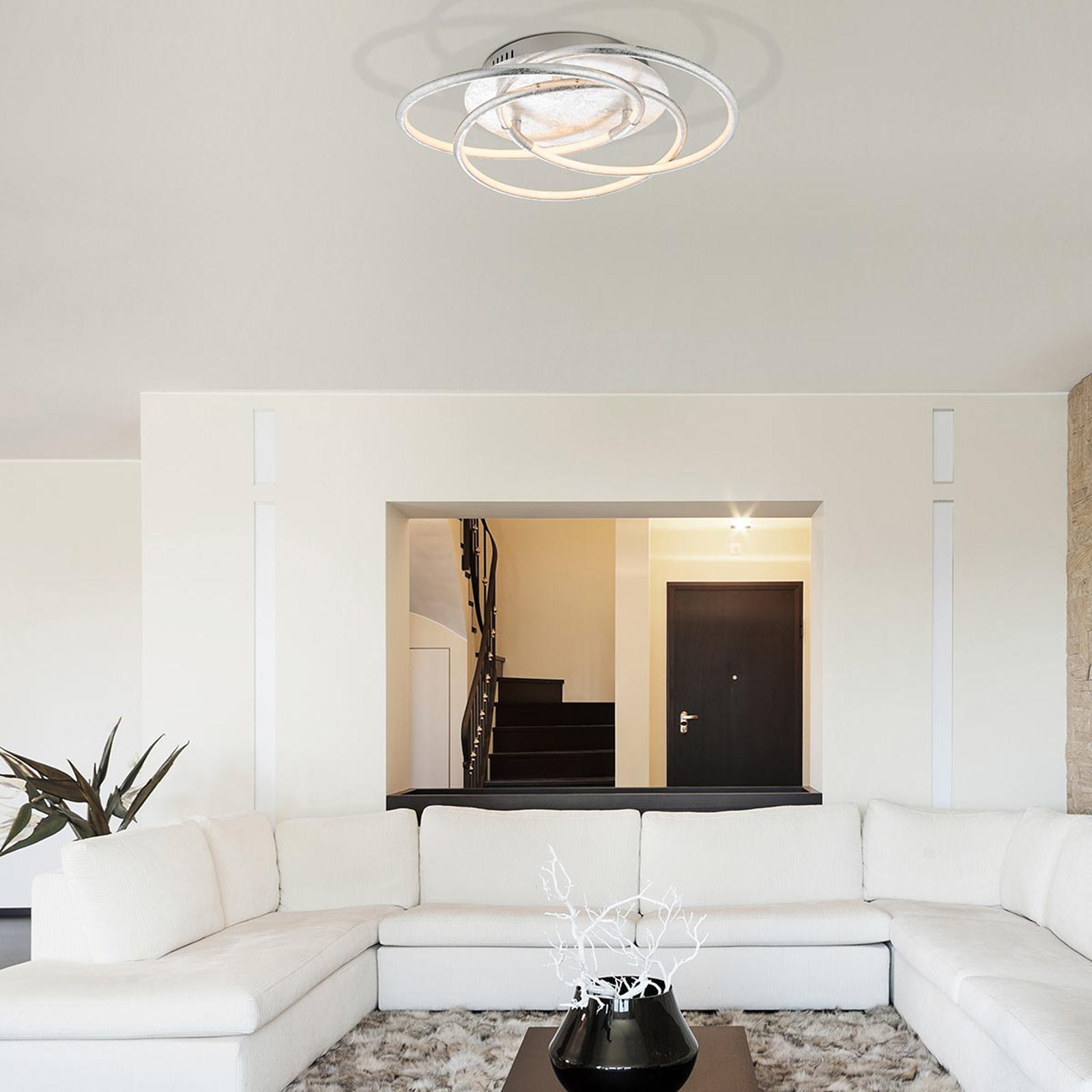 Barna – LED taklampen med gyllen finish | Lampegiganten.no