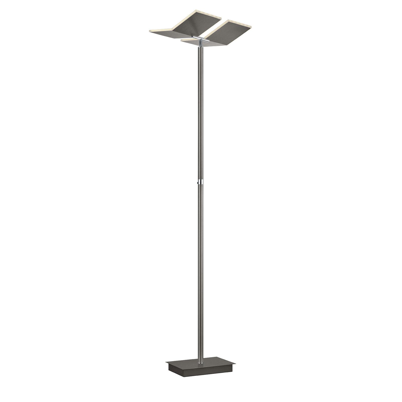 B-Leuchten Domi lampa stojąca LED, brązowa