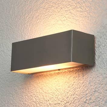 Rechteckige Wandlampe Alicja für außen
