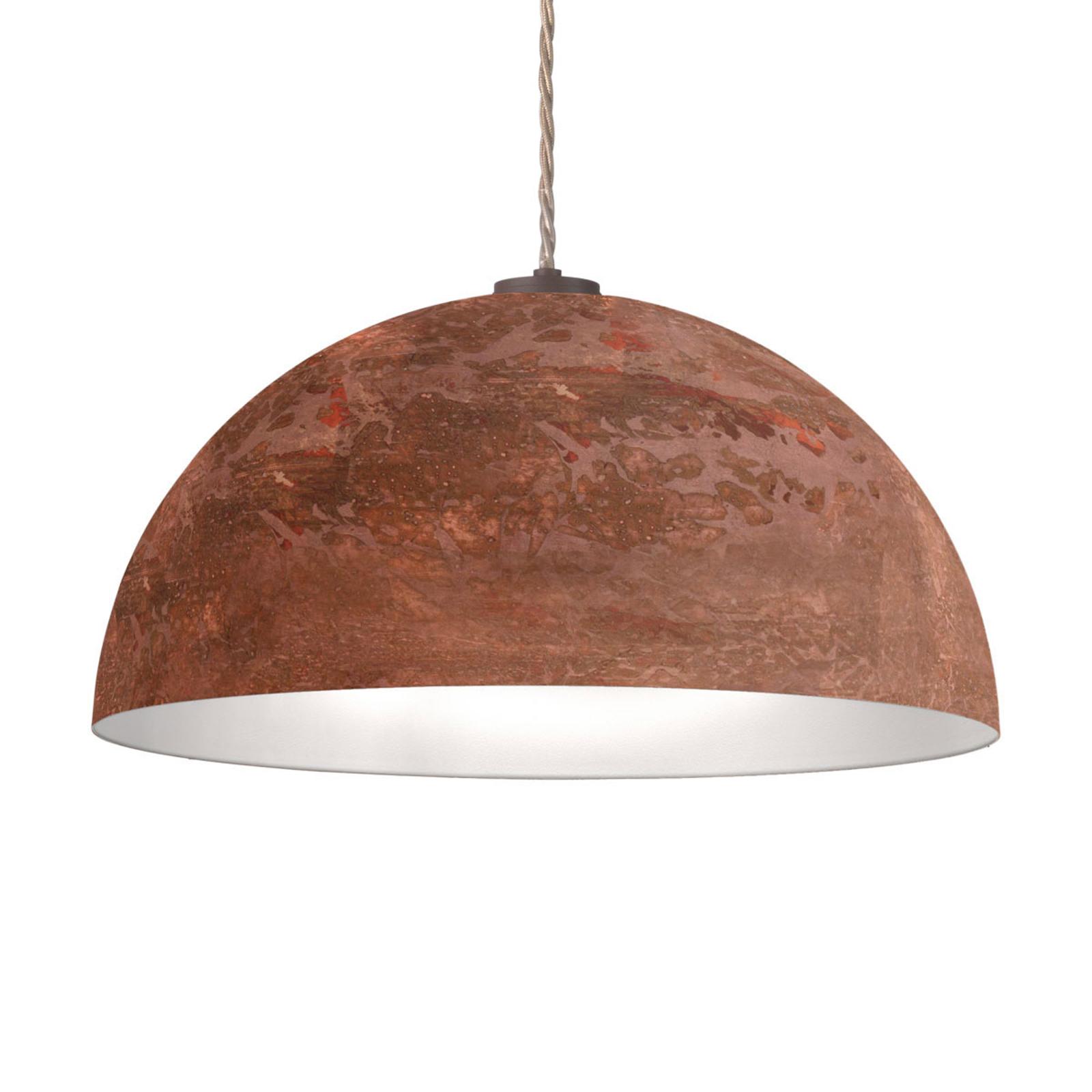 Lampa wisząca Cult Vintage, miedź, Ø 50 cm