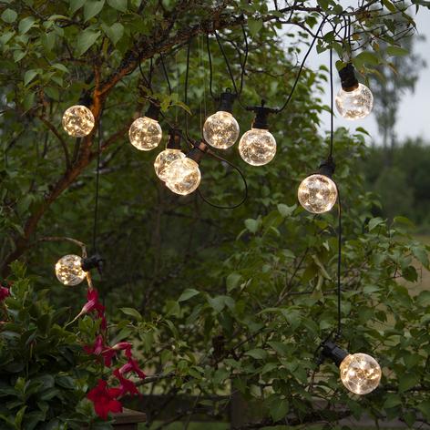 LED-Lichterkette Big Circus, Dew Drops
