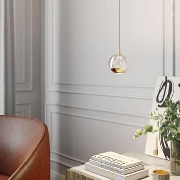 Lampada a sospensione LED Hayley, 1 luce, oro