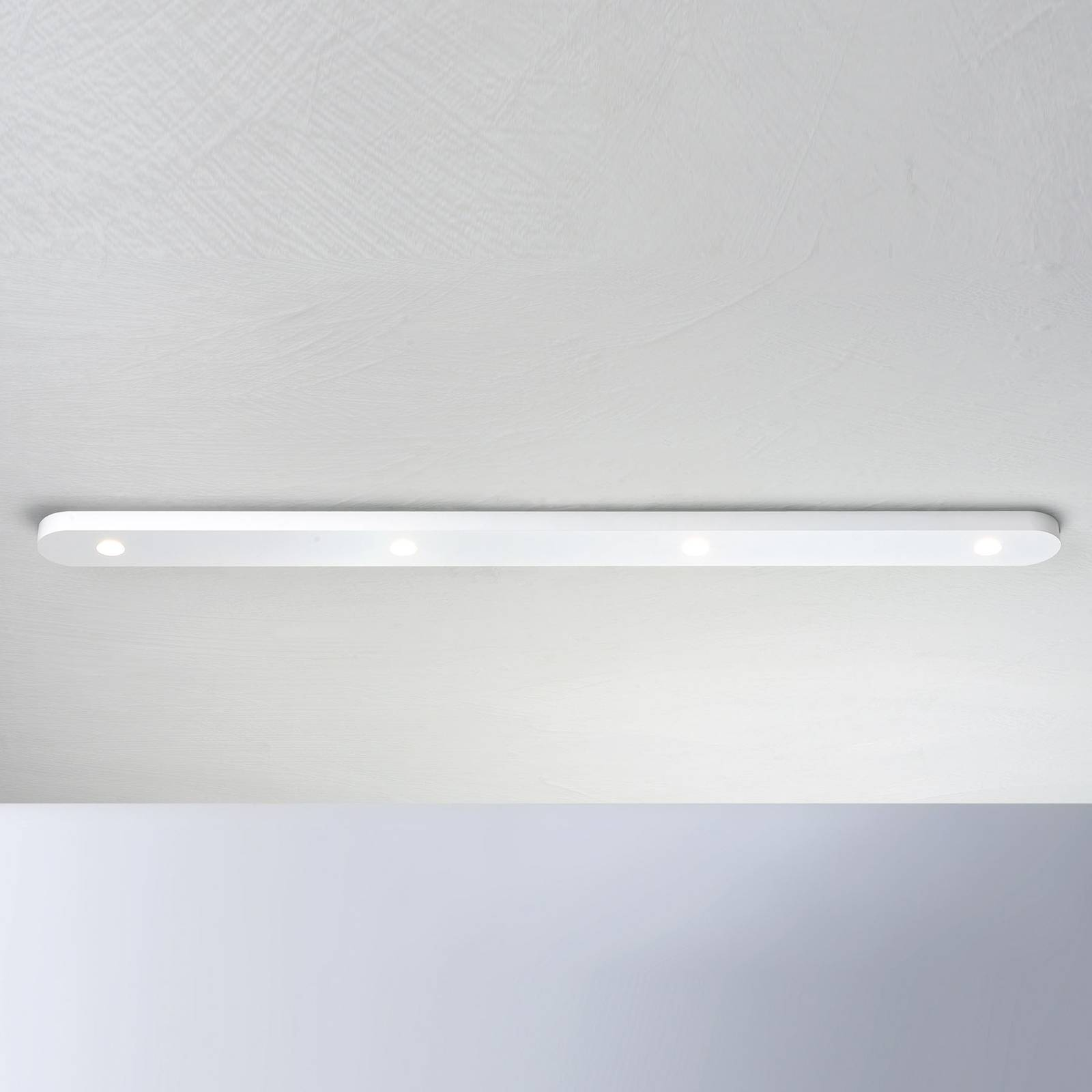 Bopp Close LED plafondlamp 4-lamps, wit