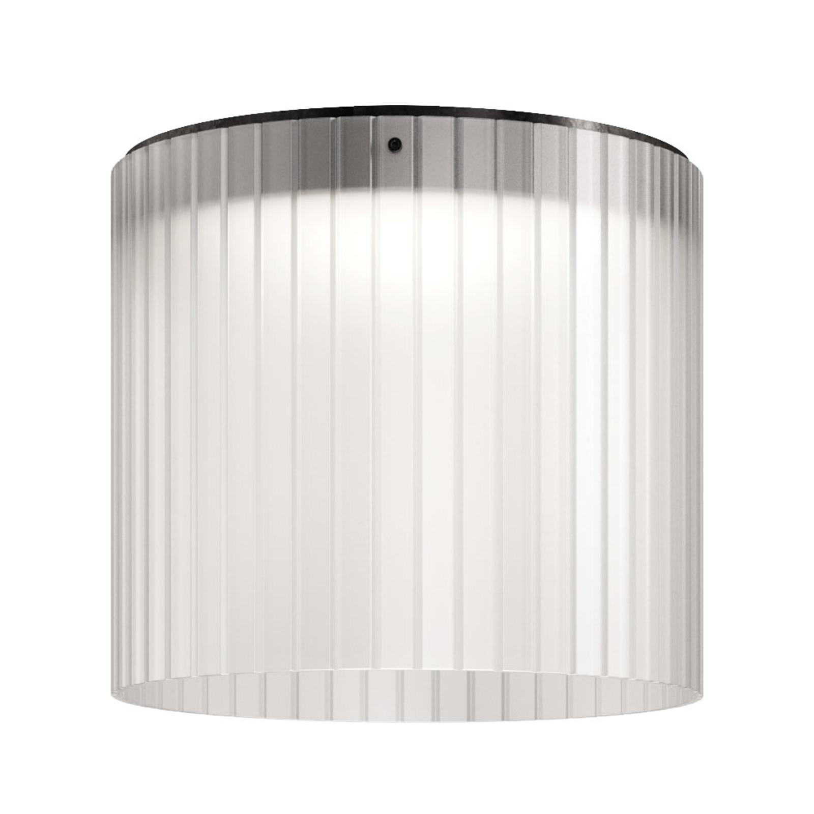 Kundalini Giass - lampa sufitowa LED Ø40 cm, biała