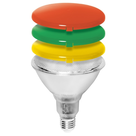 PAR38 diffusiekap voor spaarlamp MEGAMAN