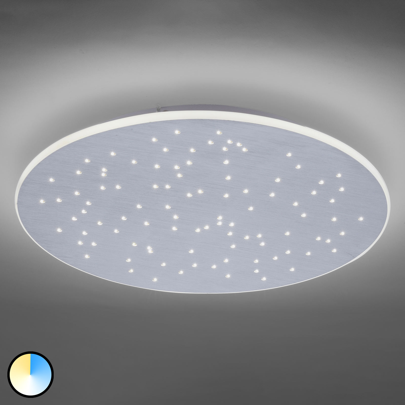 Paul Neuhaus Q-NIGHTSKY plafonnier LED, rond