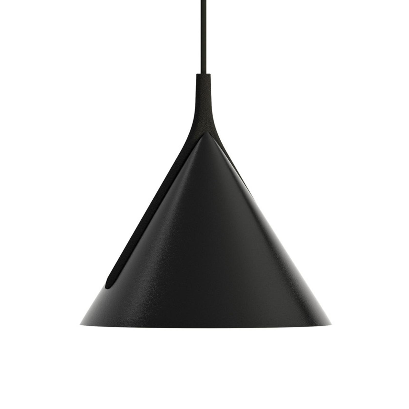 Axolight Jewel Mono Pendel schwarz 2.700K 38°