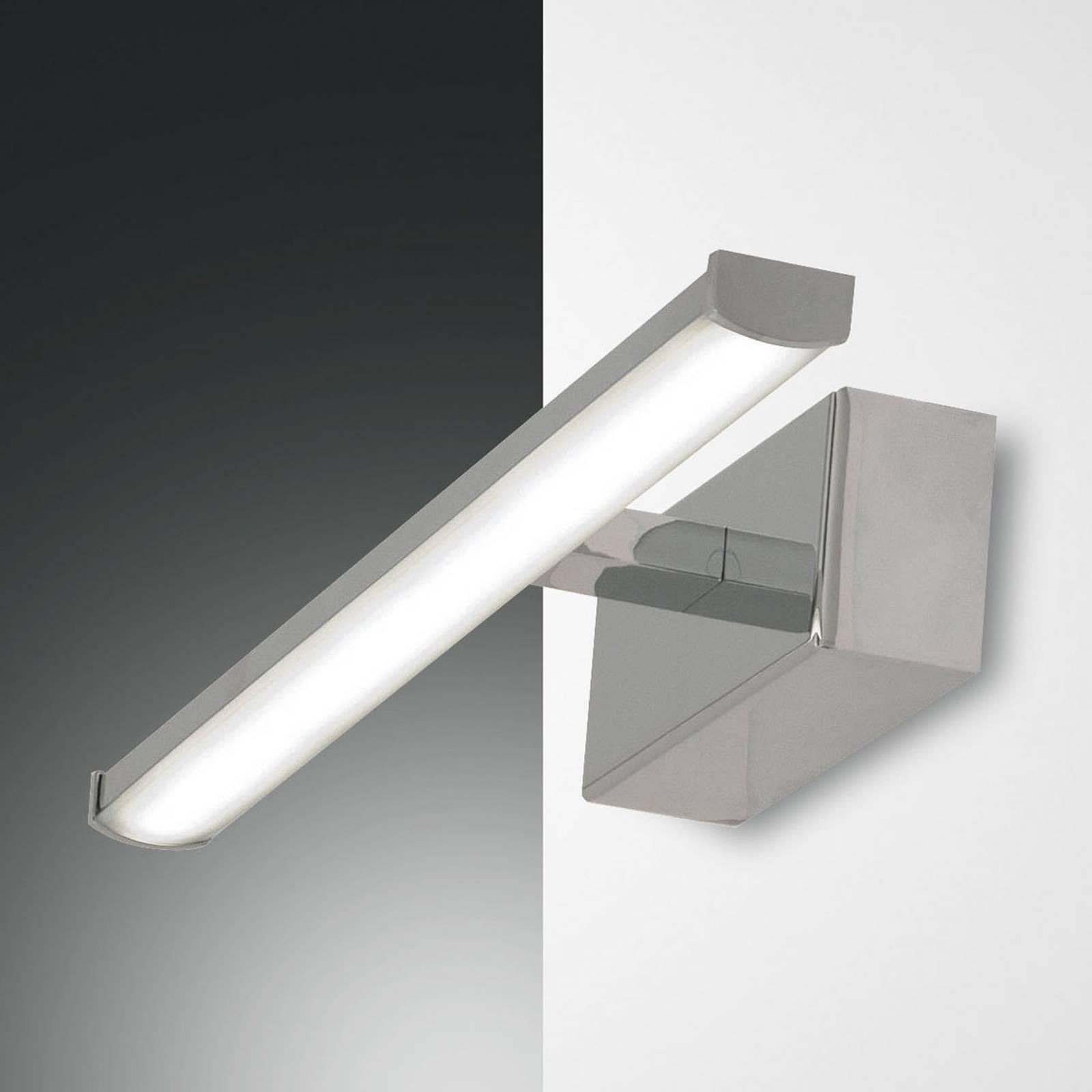 LED-Wandleuchte Nala, chrom, Breite 30 cm