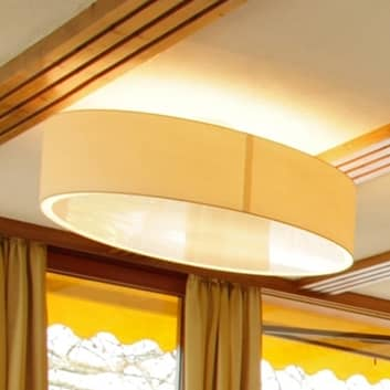 LIVING ELEGANT cremefarvet loftlampe