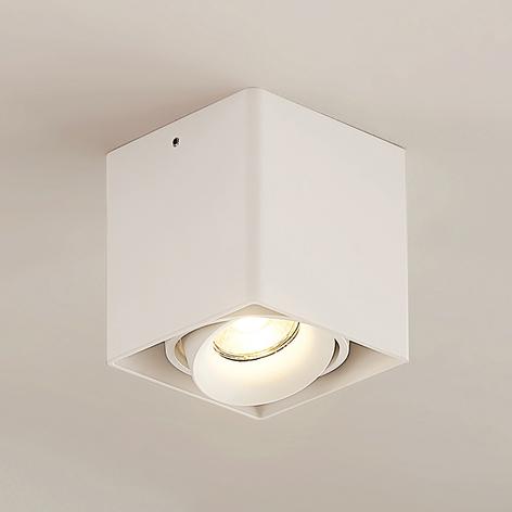 Arcchio Kubika -alasvalo, 1-lamp., valkoinen
