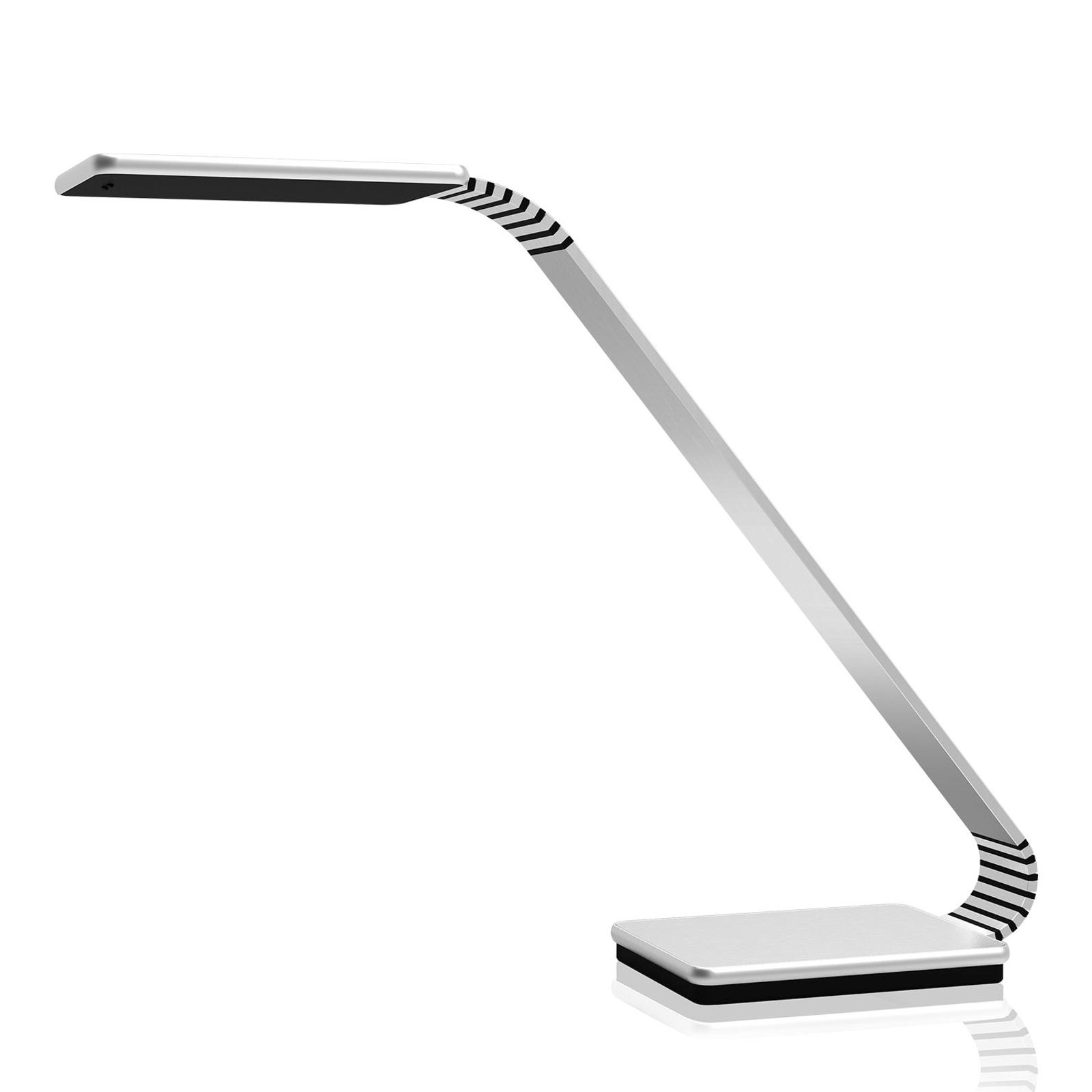 TRAE Maze 2 lampe de bureau LED, 4000K aluminium