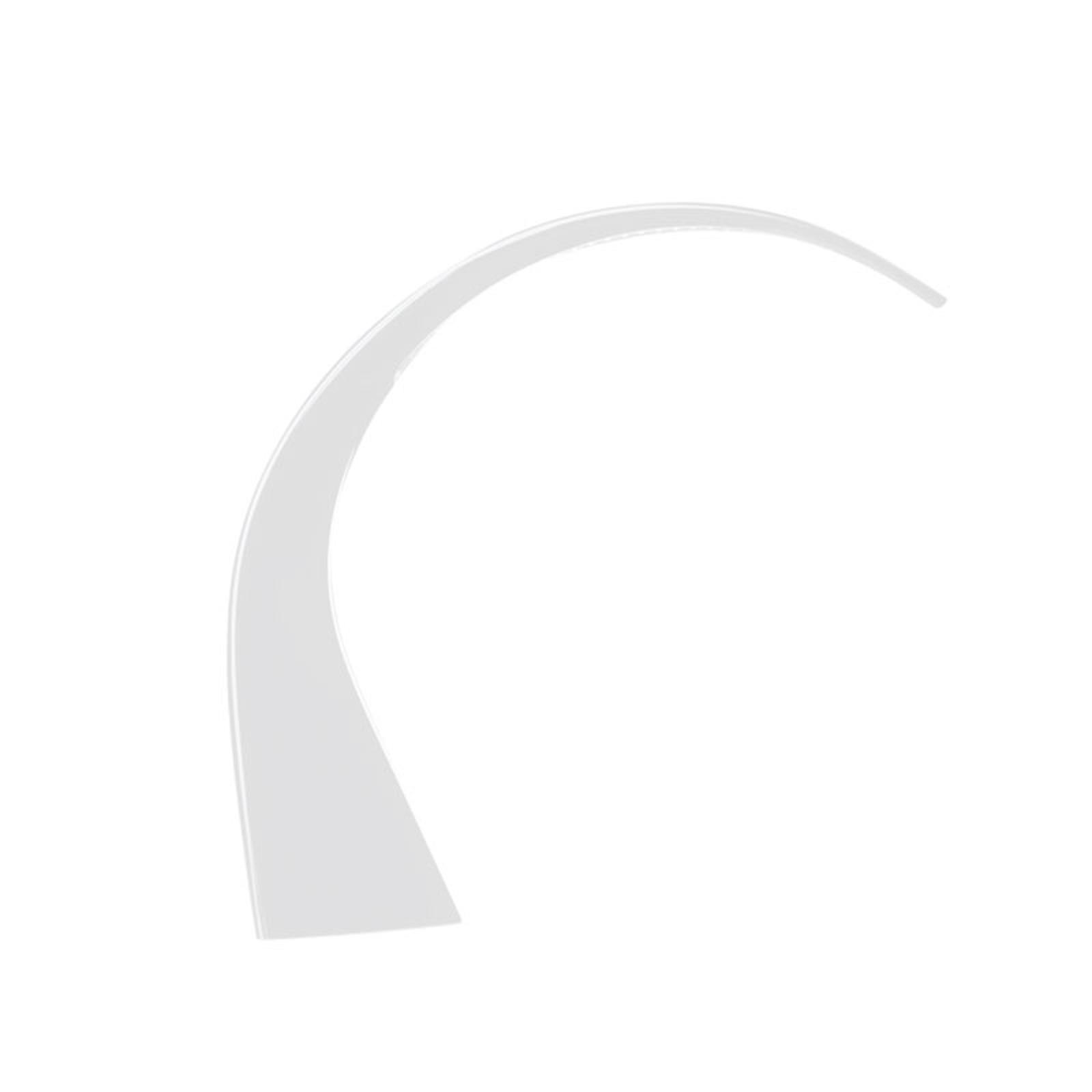 Lampe de bureau LED Taj Mini, blanche