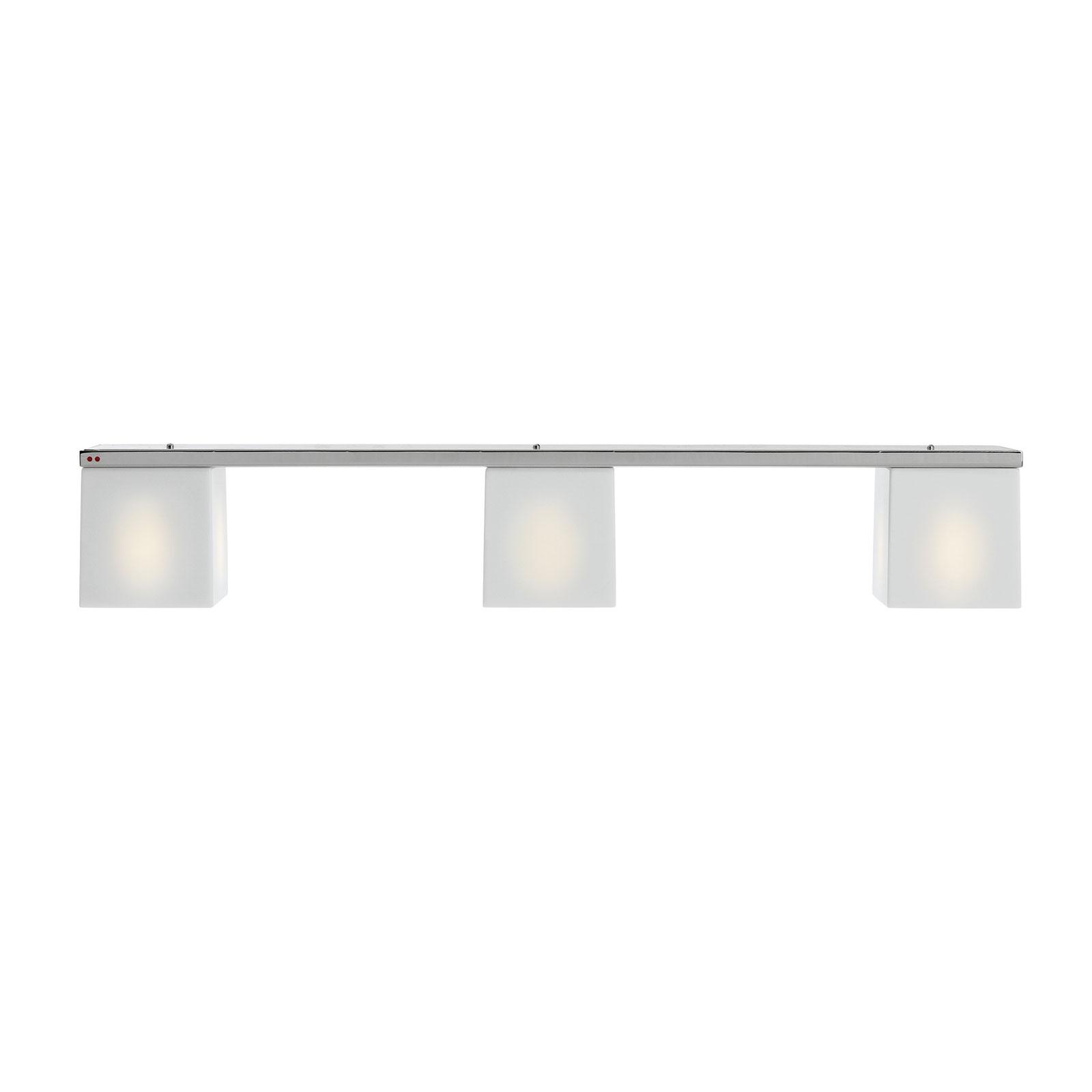 Fabbian Cubetto lampa sufitowa 3-pkt. GU10 biała