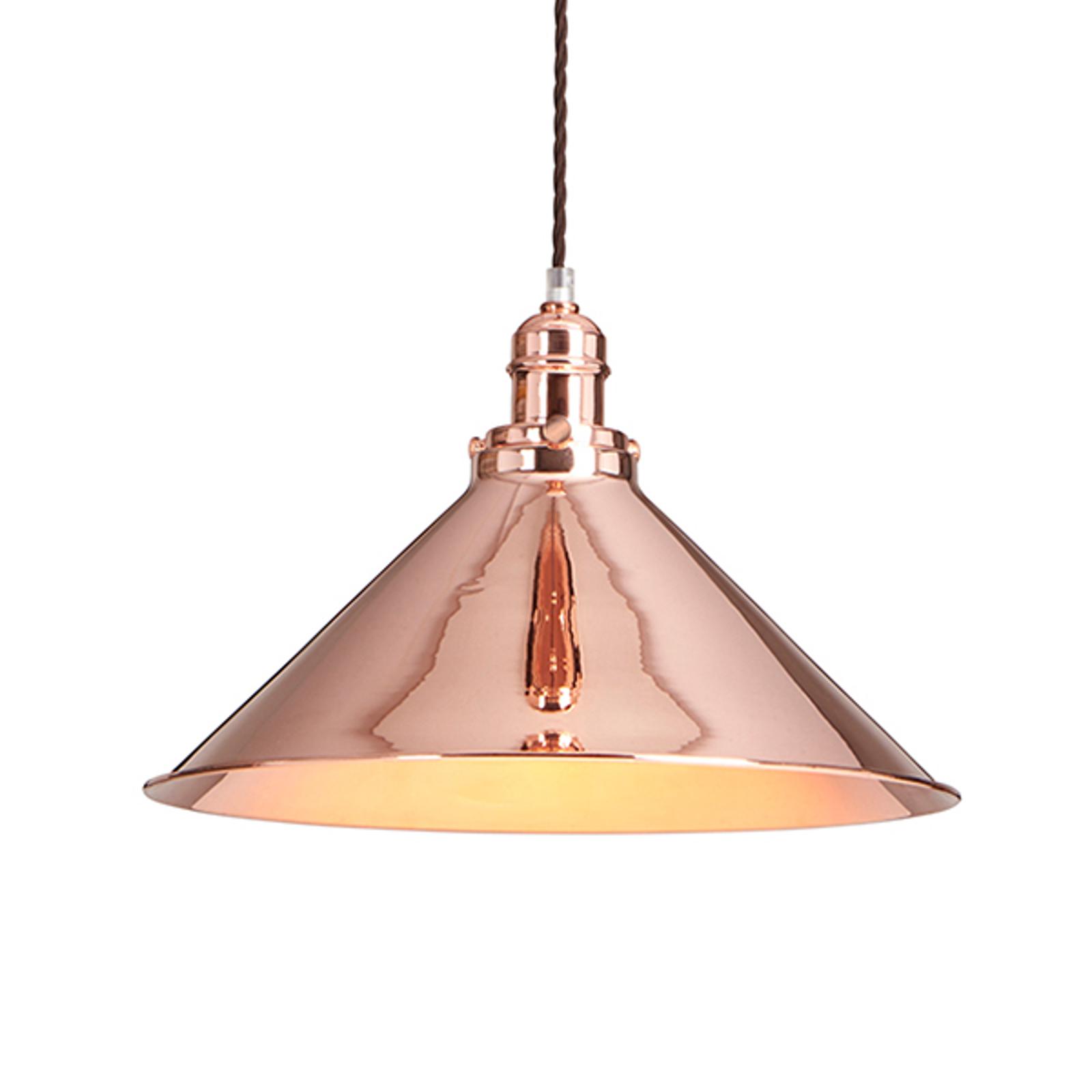 Błyszcząca lampa wisząca Provence, industrialna