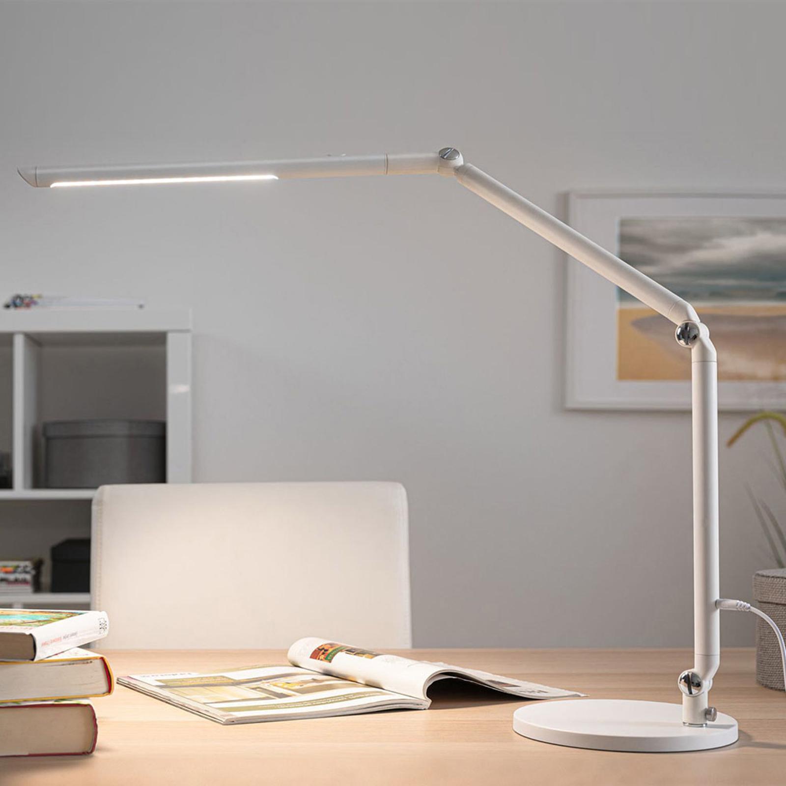 Paulmann FlexBar LED-skrivbordslampa vit