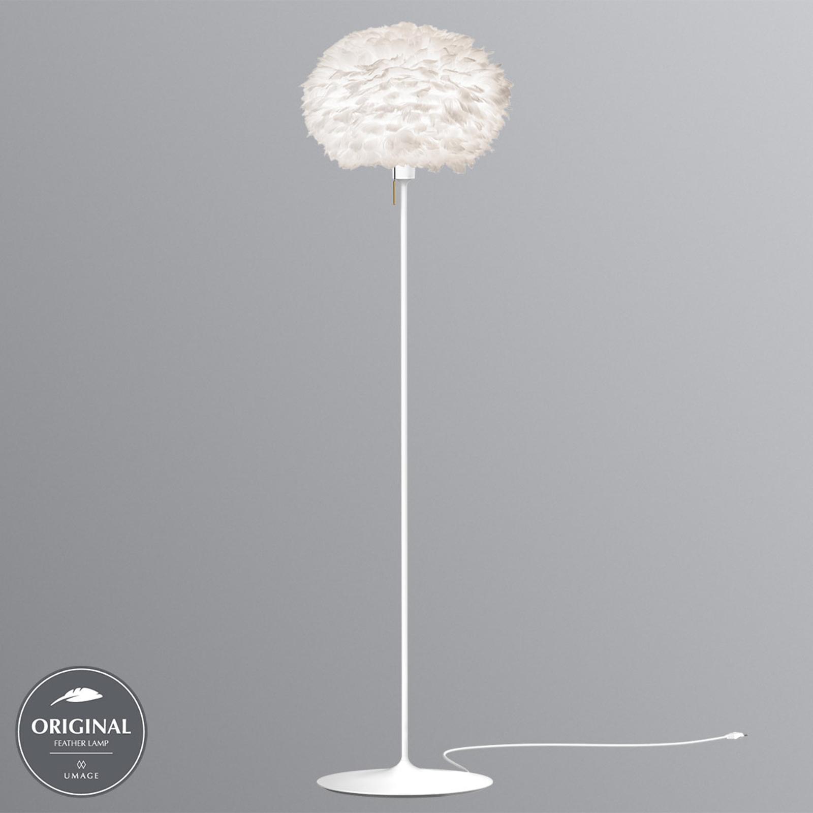 UMAGE Eos medium gulvlampe i hvit