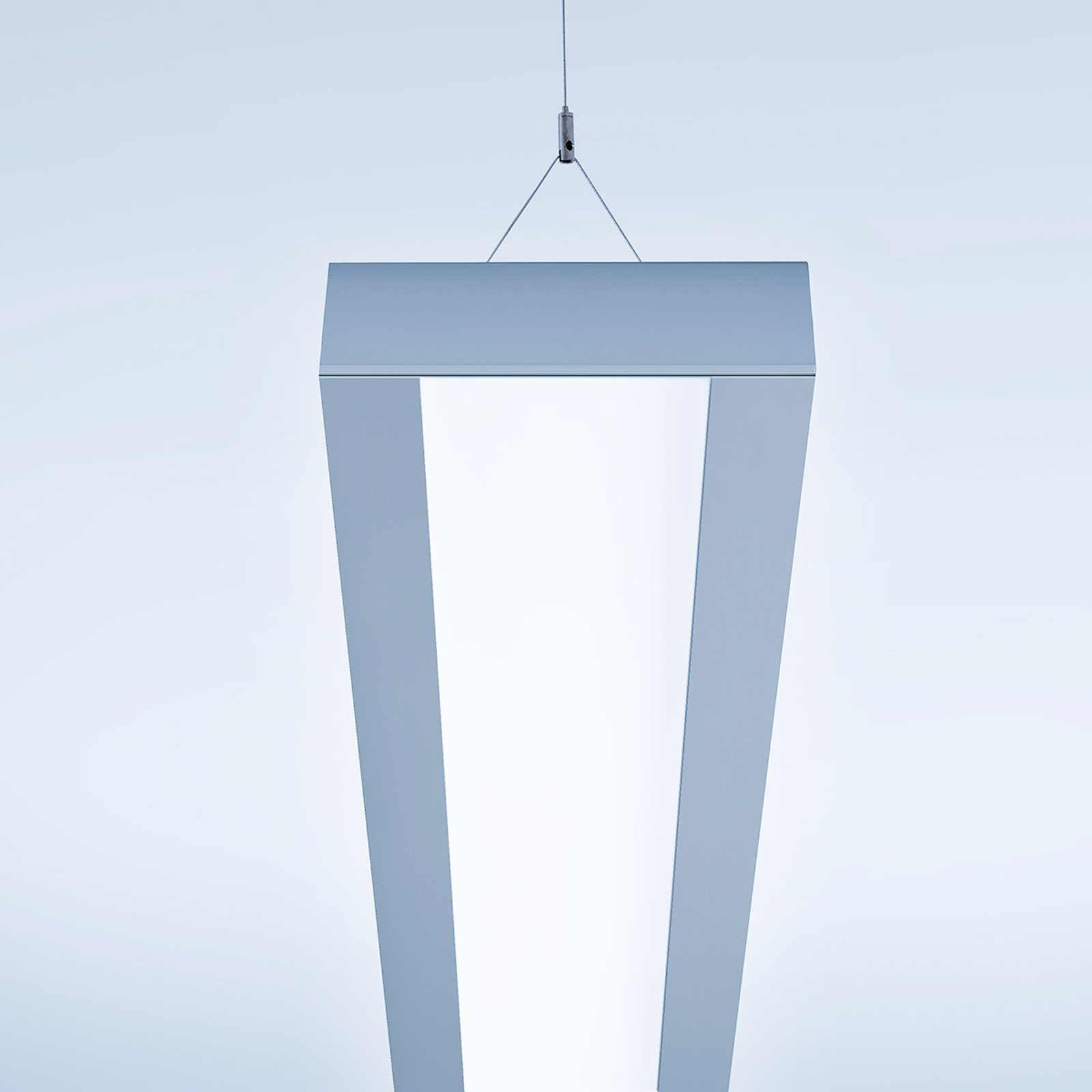 Moderne LED-Hängeleuchte Vision-P2 147,5 cm 73W